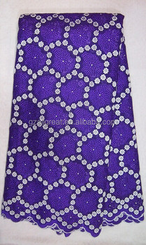 2015 Latest design of swiss voile lace fabric