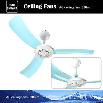 830mm 33 Inch Best Silent Ful Cooling Room Ceiling Fan For Home Without Lights