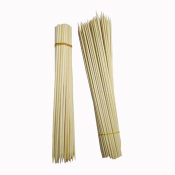 Thin Bamboo Sticks Wooden Long