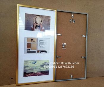 Colurful Pvc Plastic Multi Opening Photo Frame Wall Hanging Photo