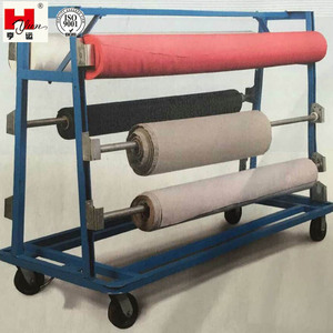 Metal Textile Roll Display Rack Fabric Roll Storage Rack