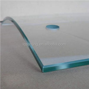 12mm curved tempered glass for building