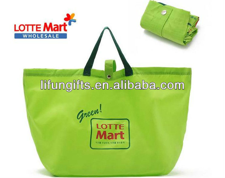 2016 cheap promotion recycle shopping bag/foldable shopping bag