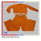 orange long sleeve safety factory work clothes