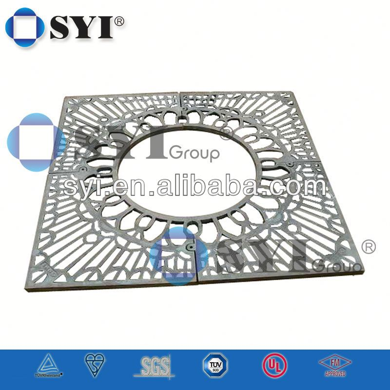 SYI Brand Decorative Metal Tree Grating