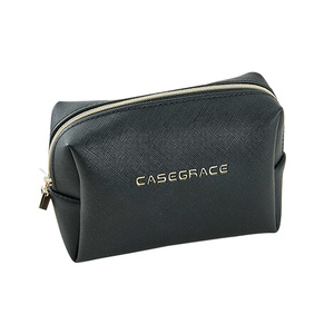 CASEGRACE Brand Eco Friendly Leather Women Travel Beauty Cosmetic Bag