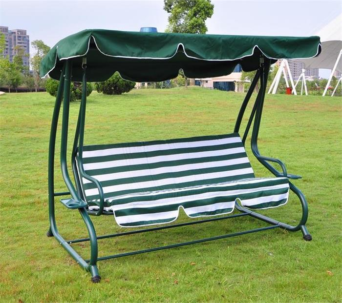 High quality outdoor steel leisure chairs HL-CS-13001swing bed with canopy - High Quality Outdoor Steel Leisure Chairs Hl-cs-13001swing Bed