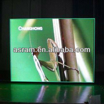 latest advertising led video wall/oled display/full color PH6 indoor LED display screen full color indoor led display