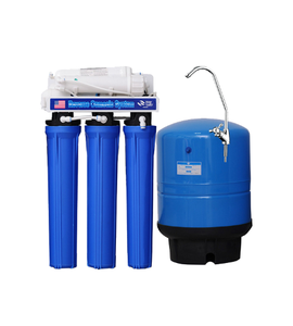 XYM Commercial RO water purifier system Water Purier 5 Stages Water filtration system with Boost Pump RO-400G-C1