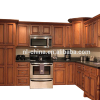 Building materials modern wood kitchen cabinet,modular kitchen designs