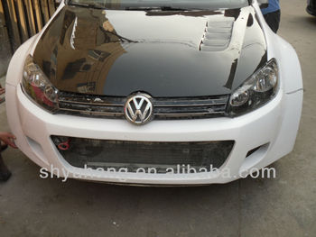for golf 6 gti osir carbon fiber engine hood for vw golf. Black Bedroom Furniture Sets. Home Design Ideas