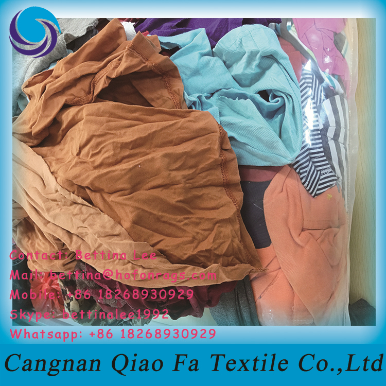 25kg Bags Of Cotton Cleaning Rags Light Color Shirts Wiping Cloth ...