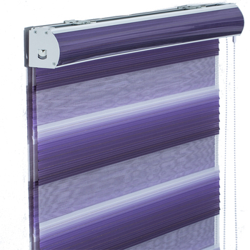 New decorative items windproof zebra fabric roller blind for the living room