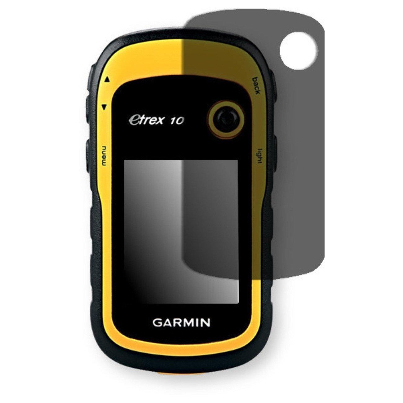 Golebo Screen Film for Privacy protection black for Garmin eTrex 10 - PREMIUM QUALITY