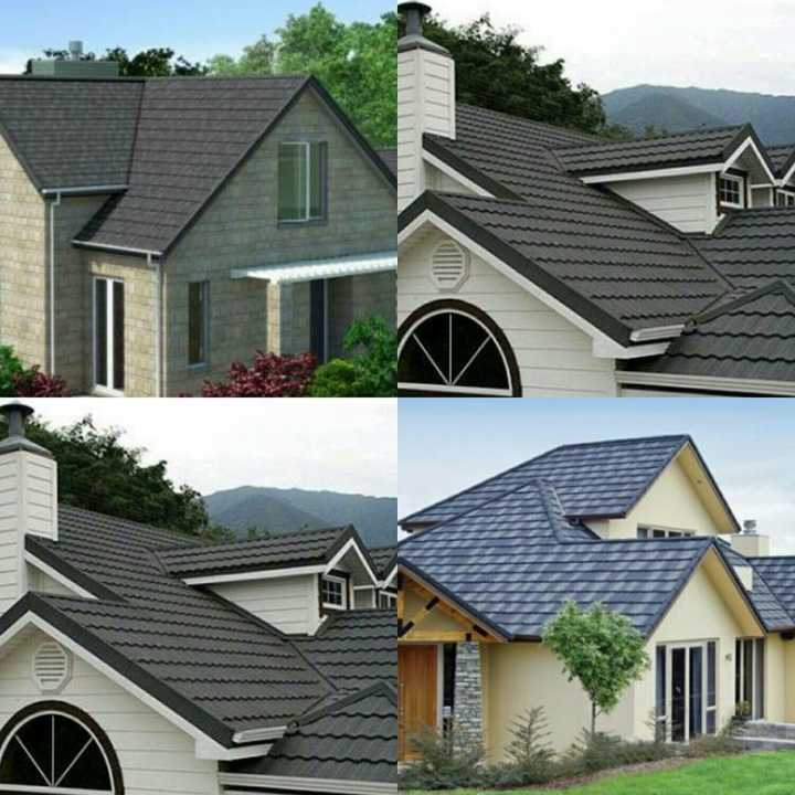 Cheap Asphalt Shingle Sheet Stone Coated Roofing Tiles