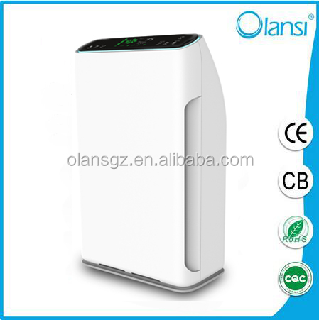 Elegant popular new product air purifiers eliminate dust, pollen with three-grade wind speed control.