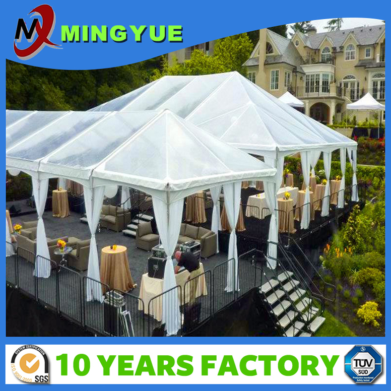 2016 New design custom iron gazebo Pagoda tent for party fireproof tent