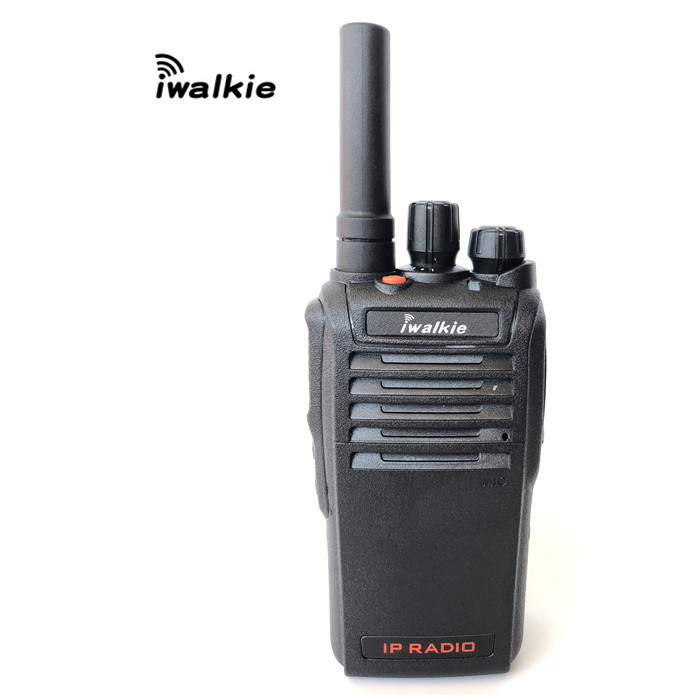 Mobile Talkie-walkie de Réseau Public iwalkie HJ3600 2G 3G 4G Wifi Radio IP