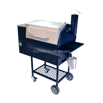 Deluxe Stainless Steel Somker Grill Pellet Hopper With Pid Controller - Buy  Deluxe Smoker Grill,Ss Bbq Grill,Charcoal Bbq Smoker Grill Product on