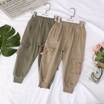 Baby boys Casual Loose Trousers Summer spring Bottoms Long Pants