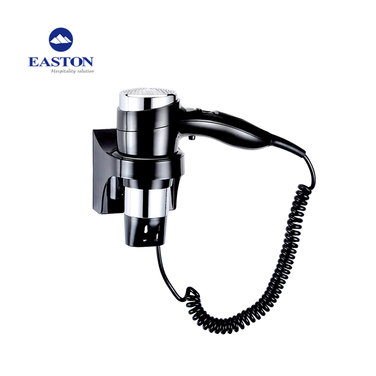 Easton Wall Mounting 1600W Hair Blower Dryer Professional for Hotels