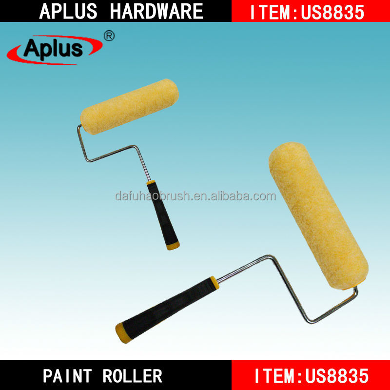 Acrylic Bristle Round Industrialoil paint Roller Cleaning Brush