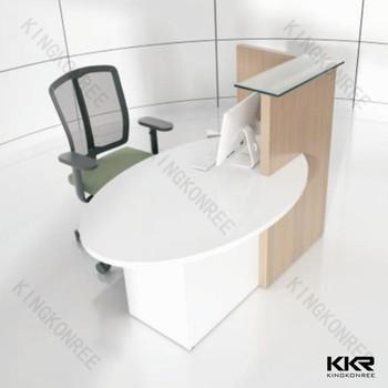 Modern Half Round Edge Office Desk