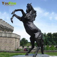 Bronze Horse Statues Garden Large Cast Copper Horse Sculpture