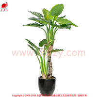 Manufacturing ficus silk tree artificial plant tree large outdoor bonsai tree for garden decoration