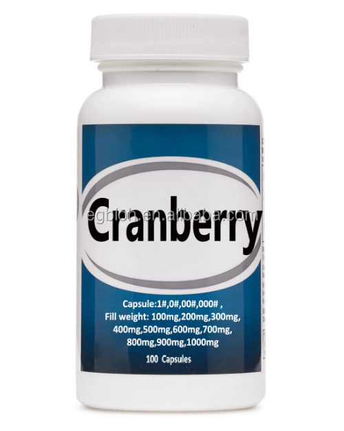 Nieuwe formule Anthocyanidins Cranberry Fruit Extract Capsule