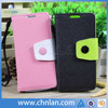High quality for samsung galaxy s4 mini flip cover with soft tpu inside