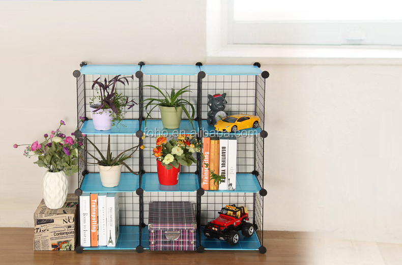 versatile grid wire modular shelving wire storage cube fh w0043 buy wire storage cube cheap. Black Bedroom Furniture Sets. Home Design Ideas