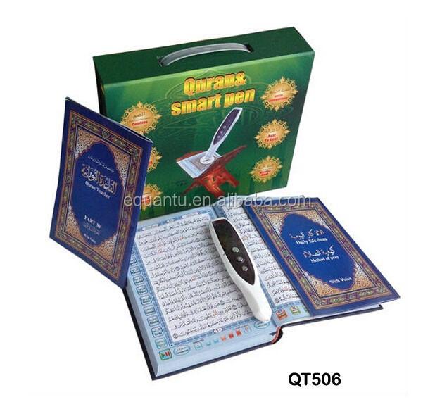 Penna lettura corano nuova elettronica corano penna lettore con schermo + mp3/mp4