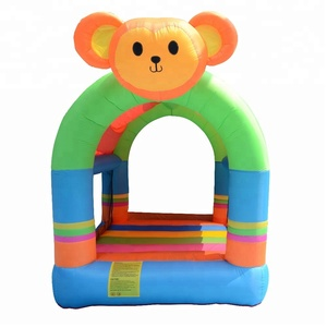 Inflatable Small Castle for fun , air inflatable bouncer toys
