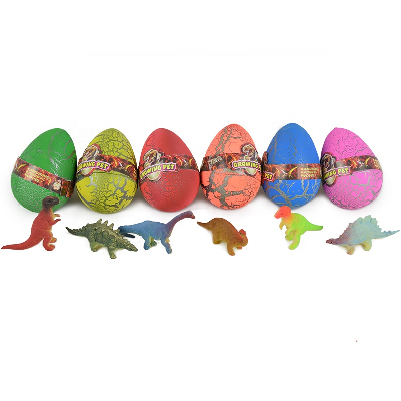 Magic hatching pet water growing dinosaur egg toy