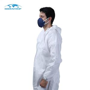 Light Chemical Protection Coverall, Type 5/6, From Morntrip