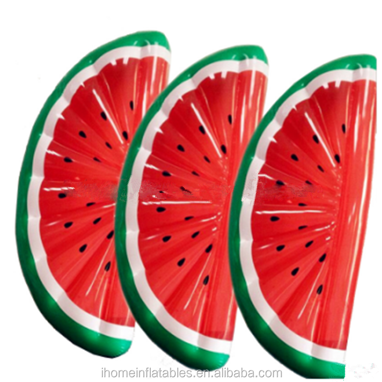 China design inflatable Half-Watermelon Float for water play with Kids