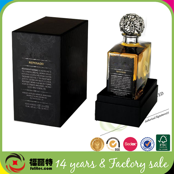 Fancy luxury innovative perfume packaging box design templates box