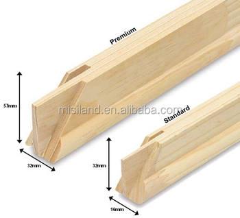 wooden canvas frame stretched canvas bar diy stretcher bar kit - Diy Canvas Frame