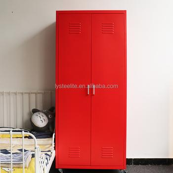 97575b24e24 Hot sale different colour 3 door clothes steel almirah iron bedroom almirah  designs