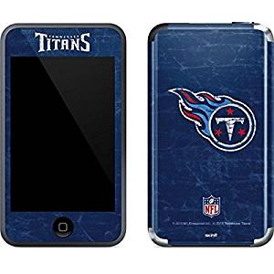 NFL Tennessee Titans iPod Touch (1st Gen) Skin - Tennessee Titans Distressed Vinyl Decal Skin For Your iPod Touch (1st Gen)