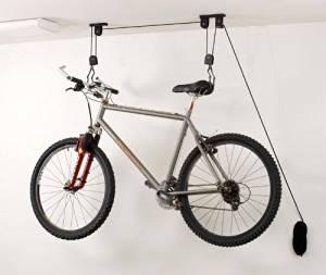 Standard Size Positz Indoor Bicycle Storage Garage Ceiling Hooks Set of 2