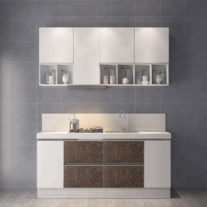 Wholesale american project modern flat pack kitchen