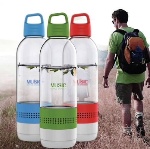 Wholesale 2 in 1 Water Bottle Wireless Bluetooth Speakers Outdoor Indoor Portable Waterproof