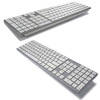 Ultra Slim Bluetooth Full Size Keyboard, Compatible with Mac OS, iOS
