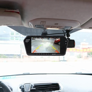 Car Rearview Mirror Monitor 7inch TFT LCD with MP5&Bluetooth Function Support USB and SD card Play Movie and Music