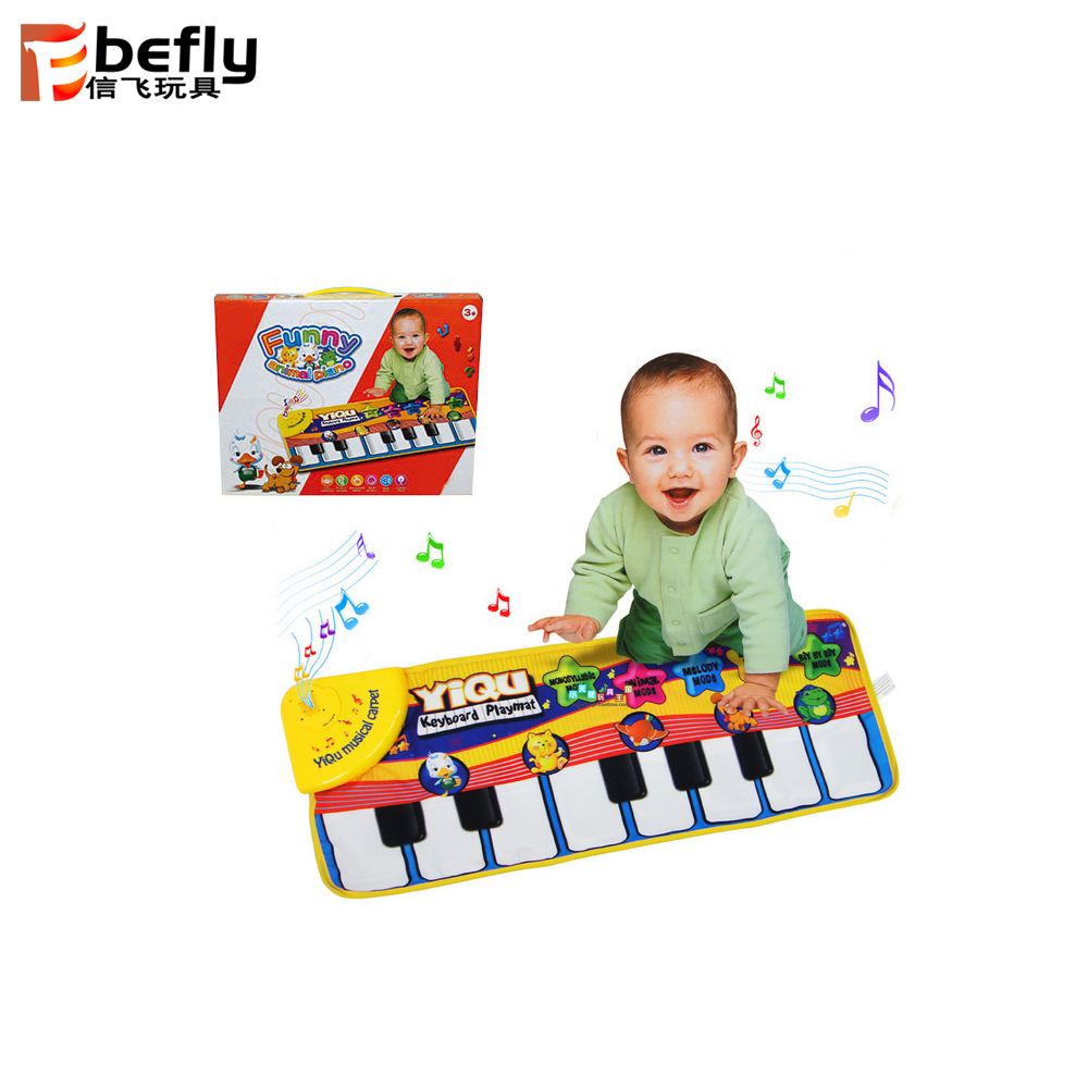 De La Música Del Bebé Alfombra Piano Estera Bebé Piso