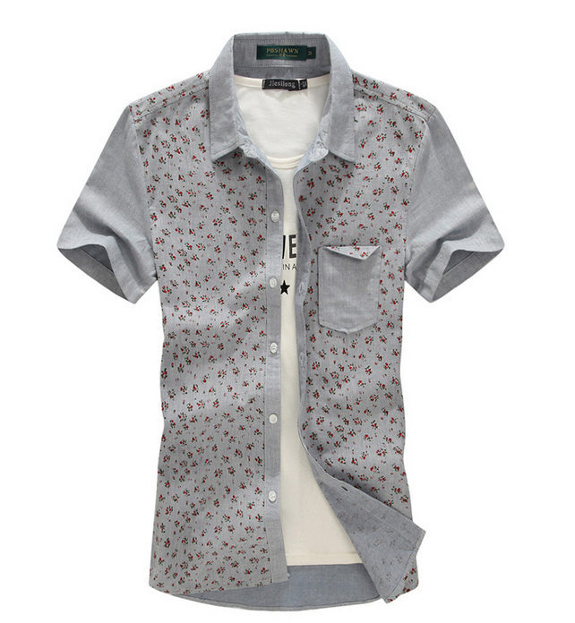 bf30f67fb53f Get Quotations · Men Casual Linen Dress Shirts Large Size M-5XL Brand  Design Summer Short Sleeve Slim
