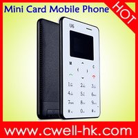 iCard U6 Single SIM Card ultra thin cell phone
