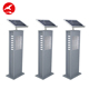 Factory Wholesale Price 1W Pathway Lamp Ip65 Outdoor Solar Landscape Bollard Garden Light Led